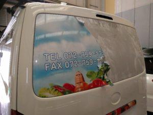 貼り直し ↓ 宣伝カー 営業車 広告ラッピング